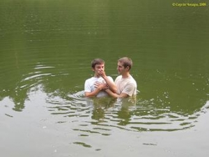 baptism in august, 2008