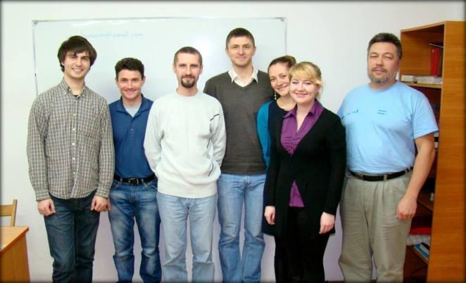 Василь та студенти коледжу