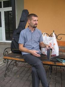Василь перед служінням