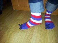 елемент дрес-коду - оригінальні шкарпетки